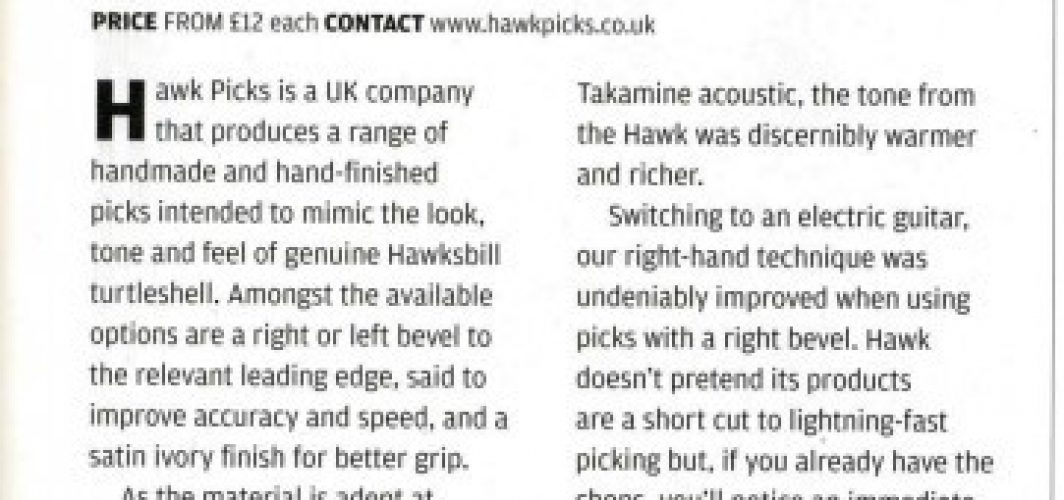 Guitar and Bass Magazine Review