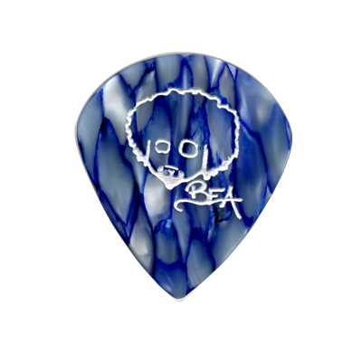 Blue Rabea Head logo
